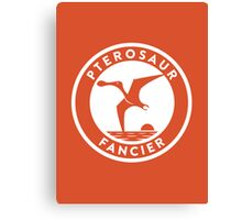 Pterosaur Fancier Print Canvas Print