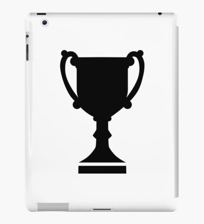 Champion winner cup iPad Case/Skin
