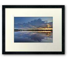 Dumfries & Galloway: Loch Ken Reflections Framed Print