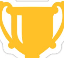 Cup trophy stars Sticker