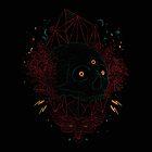 Neon skull by Fil Gouvea