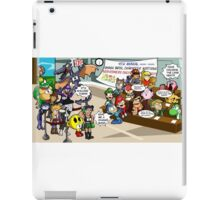 Smash Bros funny iPad Case/Skin
