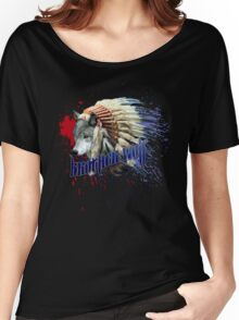 Brother wolf Women's Relaxed Fit T-Shirt