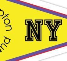 SOUTHAMPTON LONG ISLAND NEW YORK ANCHOR NAUTICAL FLAG PENNANT OCEAN BEACH SURFING SURF YACHT YACHTING BOAT Sticker