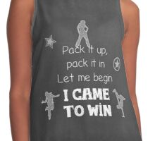 I came to win Contrast Tank