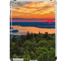 Greens and Golds iPad Case/Skin