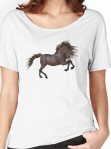 A Horse In The Sunset Women's Relaxed Fit T-Shirt