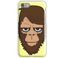 Monkey Hipster Beard iPhone Case/Skin
