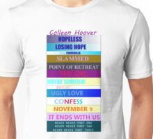 Colleen Hoover Spines Unisex T-Shirt
