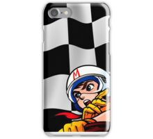 Speed Racer Checkered Flag! iPhone Case/Skin