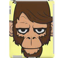 Monkey Hipster iPad Case/Skin