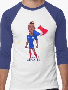Pogba (SuperEuros) Men's Baseball ¾ T-Shirt