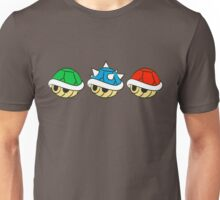 Mario Kart Items- Shells Unisex T-Shirt