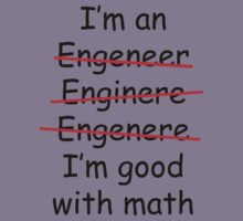 I'm an Engineer Kids Clothes