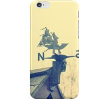 North south iPhone Case/Skin