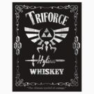 Triforce Whiskey STICKER! by Punksthetic