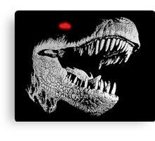 Cyborg T-rex Canvas Print