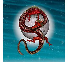 Eastern Red Dragon Photographic Print