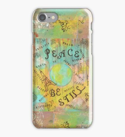 Peace Be Still iPhone Case/Skin