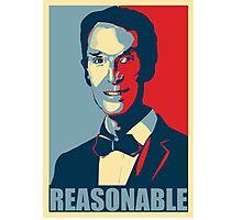 Reasonable Man Photographic Print