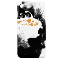 Monster in the mist 02 iPhone Case/Skin