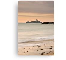 Godrevy Lighthouse, Cornwall, England Canvas Print