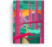 Jungle Feelings Canvas Print