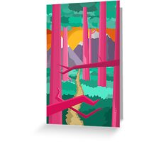 Jungle Feelings Greeting Card