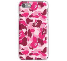BAPE PINK CAMO iPhone Case/Skin
