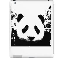 cute black and white panda bear iPad Case/Skin