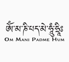 Om Mani Padme Hum by Resonance Clothing