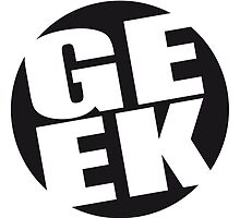 Round geek logo by Style-O-Mat