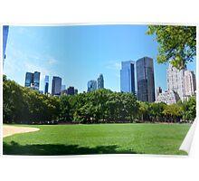 Central Park New-York Poster