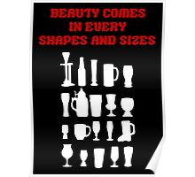 Beer is beauty Poster