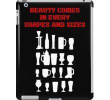 Beer is beauty iPad Case/Skin