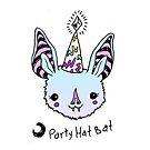 Party Hat Bat! by brettisagirl