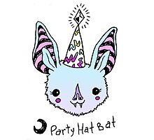 Party Hat Bat! by brettisagirl