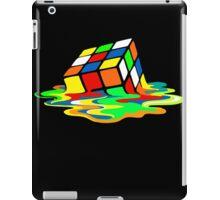 The Big Bang Theory Sheldon Cooper Melting Rubik's Cube cool geek iPad Case/Skin