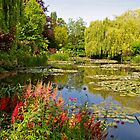 Monet's water garden at Giverny by Alex Cassels