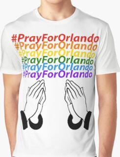 #PrayForOrlando Graphic T-Shirt