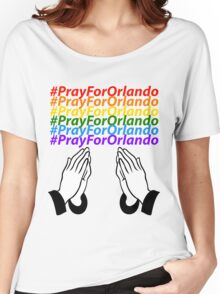 #PrayForOrlando Women's Relaxed Fit T-Shirt