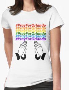 #PrayForOrlando Womens Fitted T-Shirt