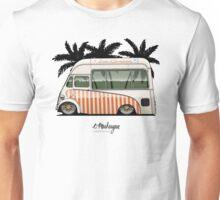 Crazy Ice Cream Truck (beige) Unisex T-Shirt