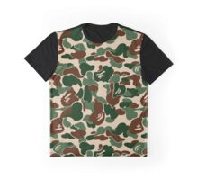 BAPE WOODLAND CAMO Graphic T-Shirt