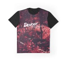 Devour All Who Stand In Your Way (Infrared) Graphic T-Shirt