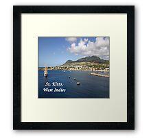 St. Kitts Framed Print