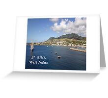 St. Kitts Greeting Card