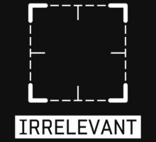 Irrelevant - Person of Interest by dbizal