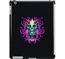 Retro 8-bit Pixel Gamer iPad Case/Skin