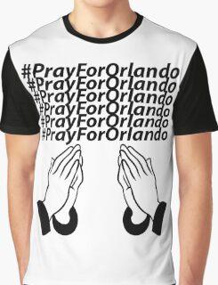PrayForOrlando Graphic T-Shirt